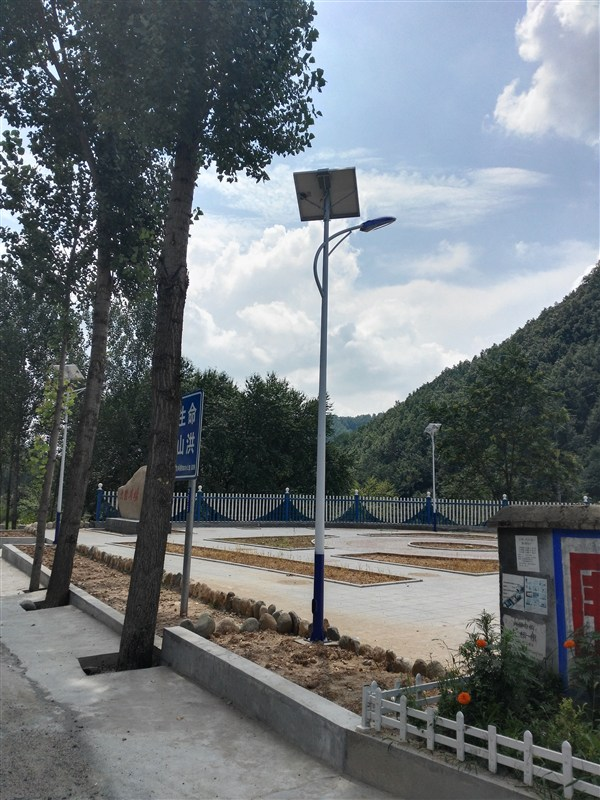 灵宝朱阳景区太阳能工程